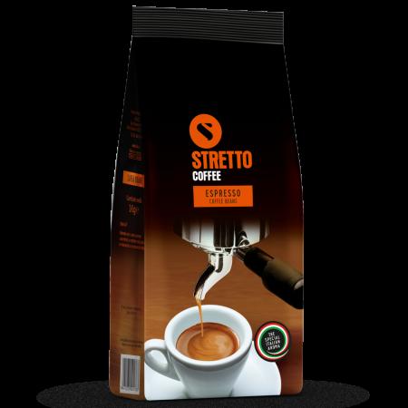 STRETTO Espresso Professional Cafea Boabe 1Kg [0]