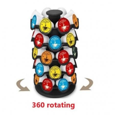 Suport Rotativ Practic pentru 40 de Capsule Nespresso [2]