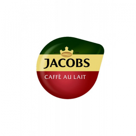 TASSIMO Jacobs Cafe Au Lait Capsule cu Cafea 16buc 184g [1]