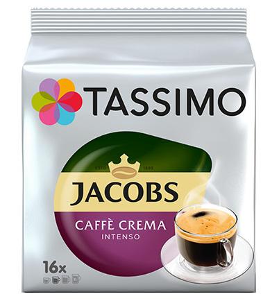TASSIMO Jacobs Caffe Crema Intenso Capsule cu Cafea 16buc 132.8g [0]