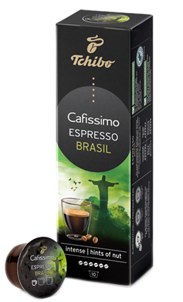CAFISSIMO Capsule Espresso Brazil 80g [0]