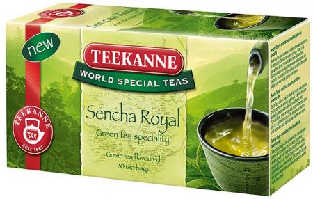 TEEKANNE Ceai Verde Sencha Royal 20x1.75g [1]