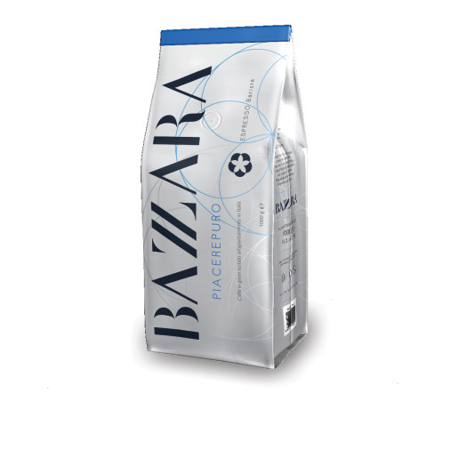 Cafea boabe Bazzara PiacerePuro, 1kg [0]