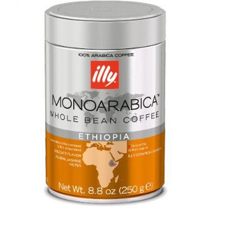 Cafea boabe Illy Monoarabica Ethiopia, 250g [0]