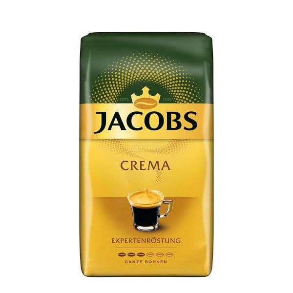 Cafea boabe Jacobs Crema Expertenrostung, 1 kg [0]