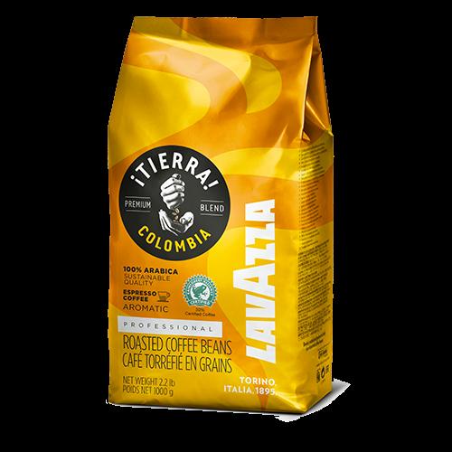 Cafea boabe Lavazza Tierra Colombia Espresso, 1 kg 1