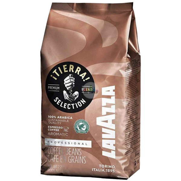 Cafea boabe Lavazza Tierra Selection Professional Rainforest, 1 kg 0