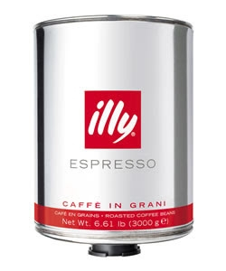 Cafea boabe illy Espresso Medium, 3 kg [0]