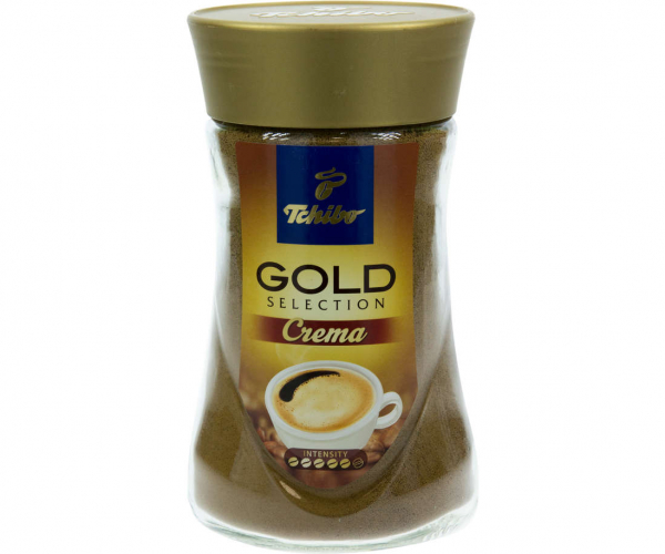 Cafea instant Tchibo Gold Selection Crema, 180g [0]