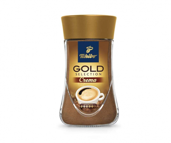 Cafea instant Tchibo Gold Selection Crema, 90g [0]