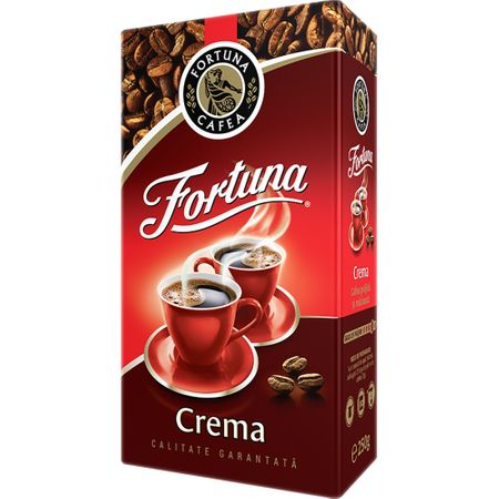 Cafea macinata Fortuna Crema , 500 g 0