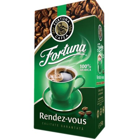 Cafea macinata Fortuna Rendez-Vous, 500 g 0