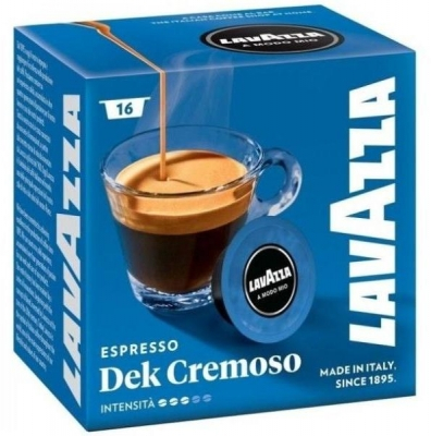 Capsule Cafea Lavazza A Modo Mio Dek Cremoso, 16 buc [0]