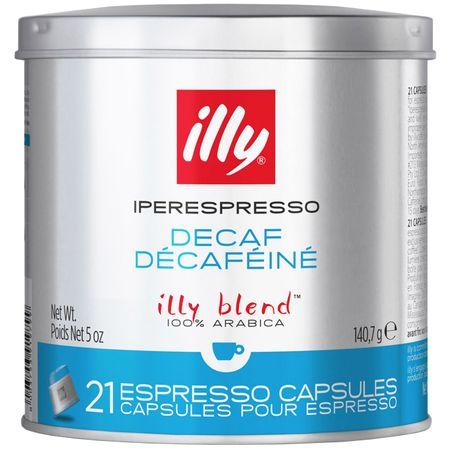 Capsule Cafea illy Iperespresso decofeinizata, 21 buc 0