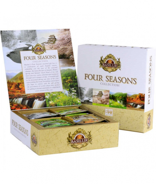 Ceai mix Basilur Four Season Assorted 40 Plicuri 0