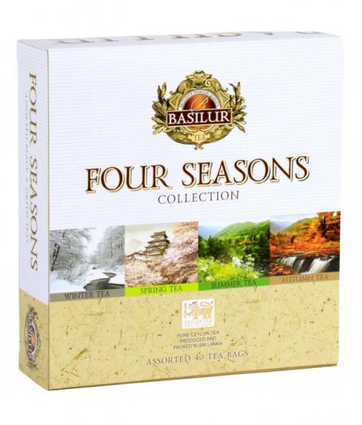 Ceai mix Basilur Four Season Assorted 40 Plicuri 1
