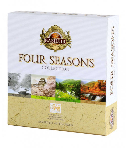 Ceai mix Basilur Four Season Assorted 40 Plicuri 2