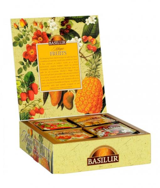 Ceai mix Basilur Magic Fruits, 40 plicuri 0