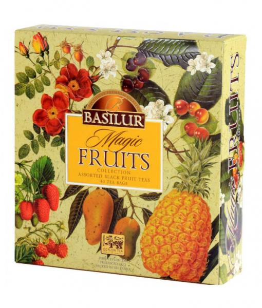 Ceai mix Basilur Magic Fruits, 40 plicuri 1