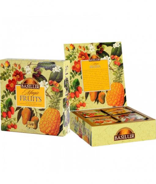 Ceai mix Basilur Magic Fruits, 40 plicuri 2