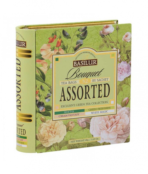 Ceai verde Basilur Bouquet Assorted [0]