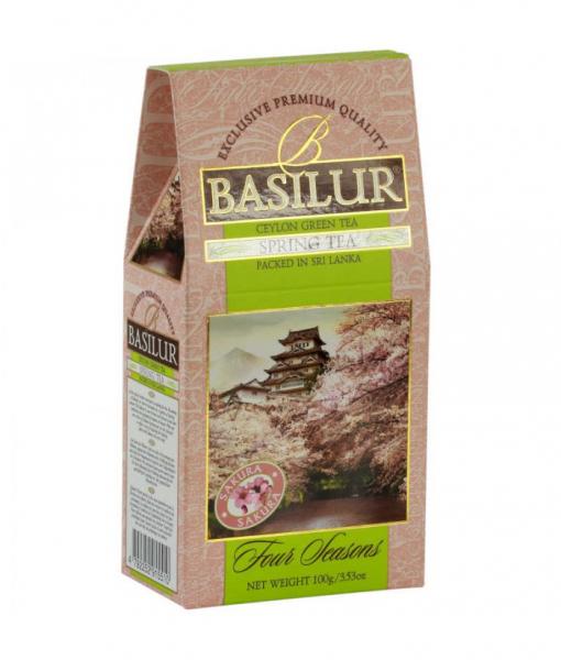 Ceai verde Basilur Spring Tea - Refill, 100 g 0