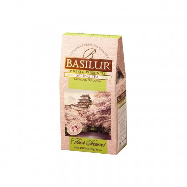 Ceai verde Basilur Spring Tea - Refill, 100 g 1