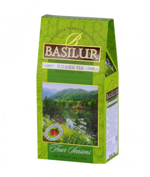 Ceai verde Basilur Summer Tea - Refill, 100 g [0]