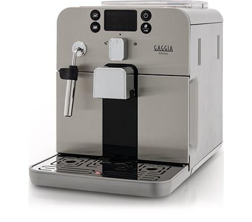 Espressor cafea Gaggia Brera, argintiu / negru 0
