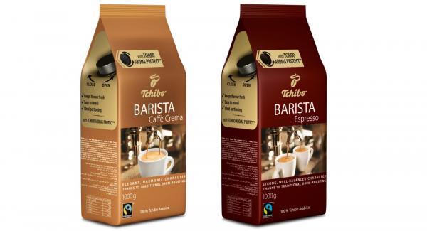 Pachet 2 x Cafea boabe Tchibo Barista, 1 kg 0