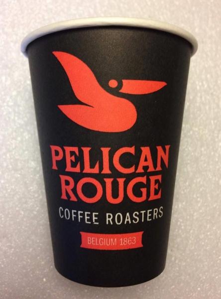 Pahare carton Pelican Rouge 8oz, 50 buc 0