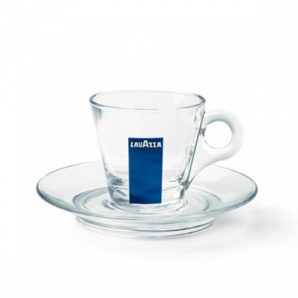 Set cesti + farfurii de cafea sticla Lavazza Espresso, 12 buc [0]