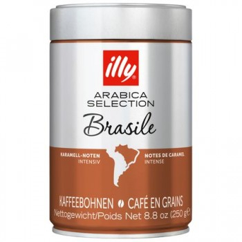 Cafea boabe illy Monoarabica Brasile, 250g 0