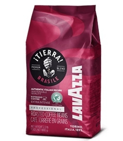 Cafea boabe Lavazza Tierra Brasile Espresso Extra Intense, 1 kg 0