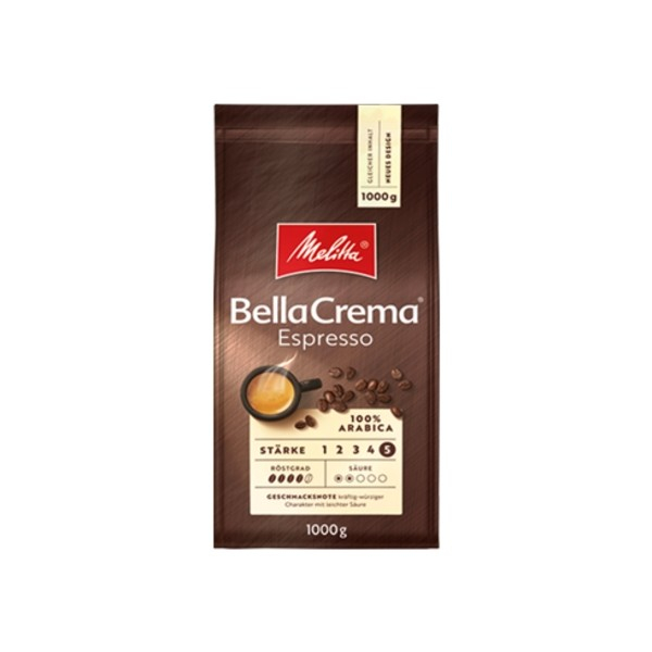 Cafea boabe Melitta Bella Crema Espresso, 1 kg [2]