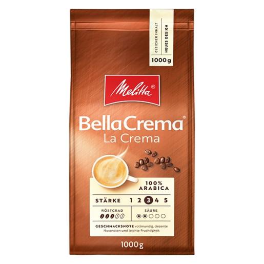 Cafea boabe Melitta Bellacrema La Crema, 1 kg 0