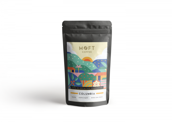 Cafea boabe Moft Columbia, 500g 0