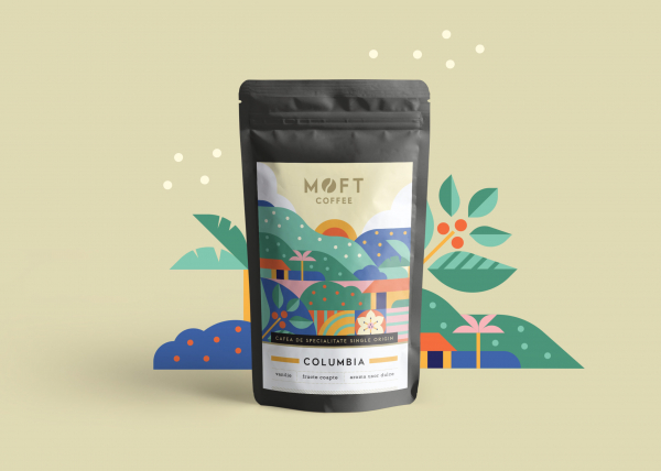 Cafea boabe Moft Columbia, 500g 1