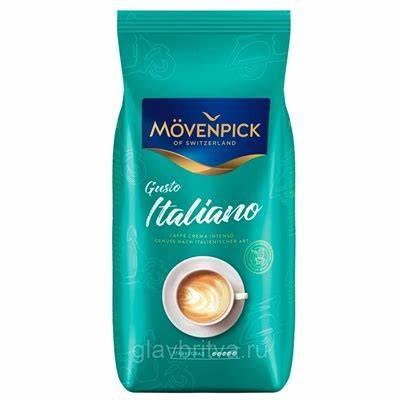 Cafea boabe Movenpick Caffe Crema Gusto Italiano Intenso, 1kg 0