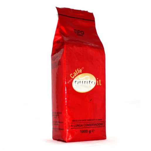 Cafea boabe Punto IT Rosso, 1kg [0]