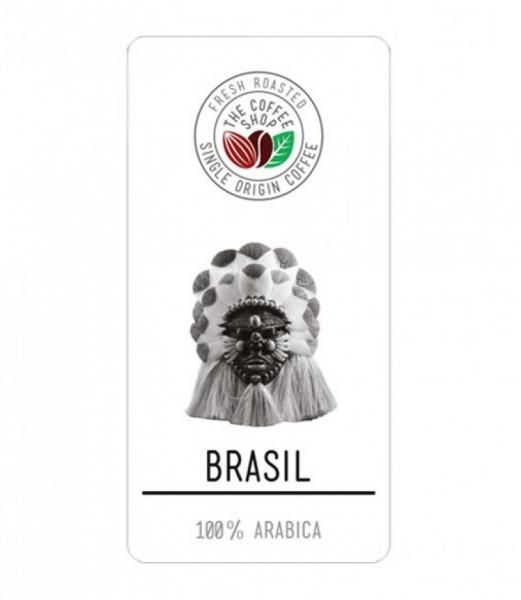 Cafea boabe Single Origin The Coffee Shop Brazil, 500g 0