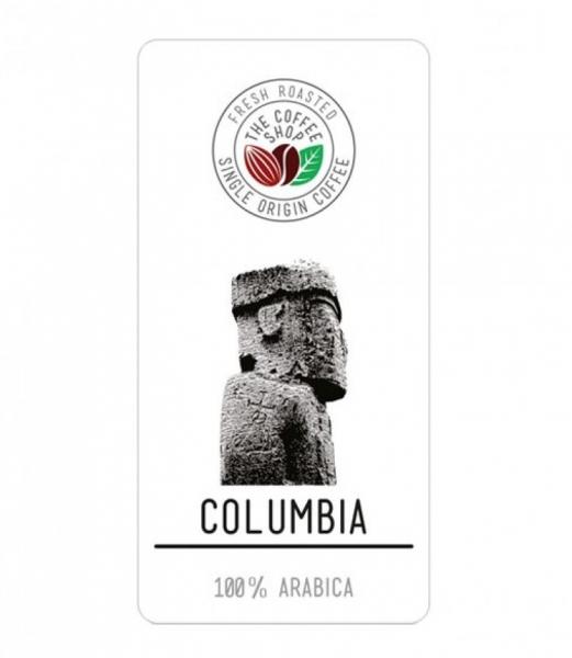 Cafea boabe Single Origin The Coffee Shop Columbia, 500g 0