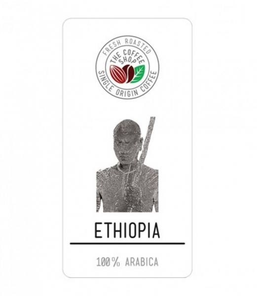 Cafea boabe Single Origin The Coffee Shop Ethiopia, 500g 0