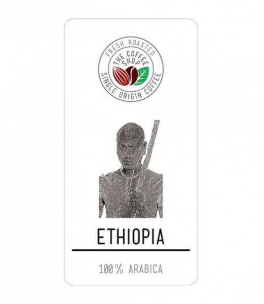 Cafea boabe Single Origin The Coffee Shop Ethiopia, 500g [0]
