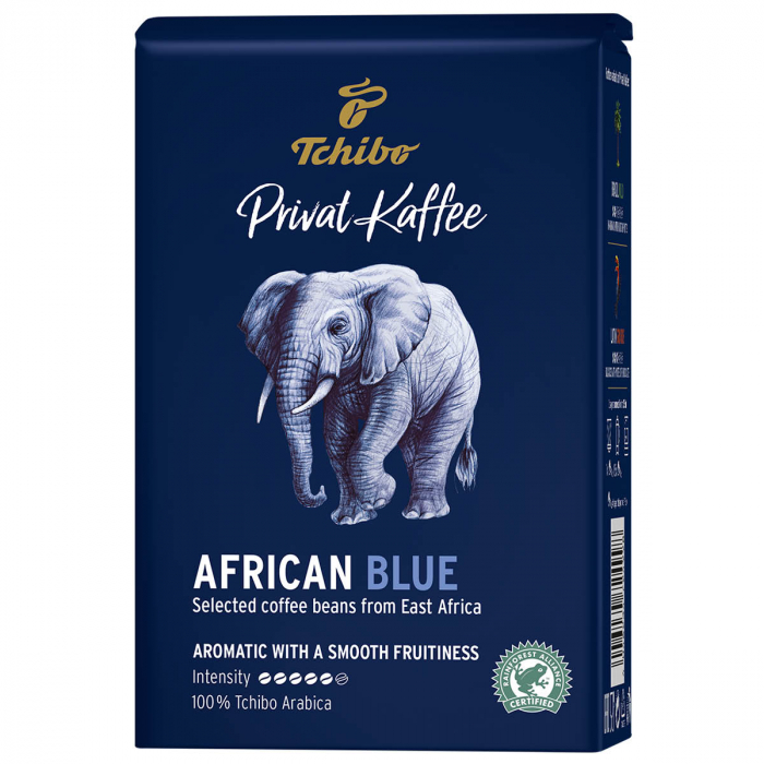 Cafea boabe Tchibo Privat Kaffee African Blue, 500g [0]