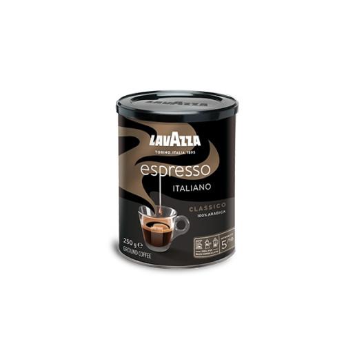 Cafea macinata Lavazza Espresso Italiano Classico cutie metalica, 250g 0