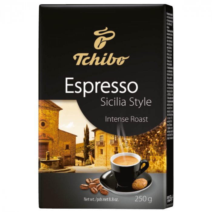 Cafea macinata Tchibo Espesso Sicilia Style, 250 g [0]