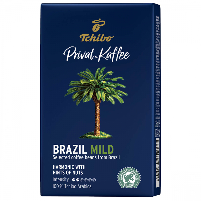 Cafea macinata Tchibo Privat Kaffee Brazil Mild, 250 gr [0]