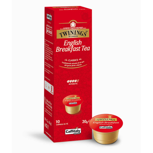 Capsule ceai negru Caffitaly Twinings English Breakfast, 10 capsule [0]