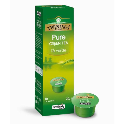 Capsule ceai verde Caffitaly Twinings Pure Green, 10 capsule [0]